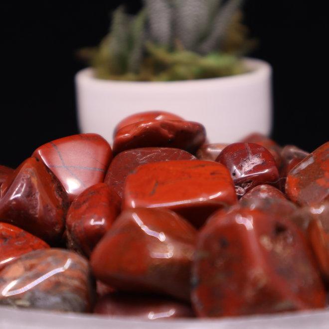 Brecciated Red Jasper - Tumbled