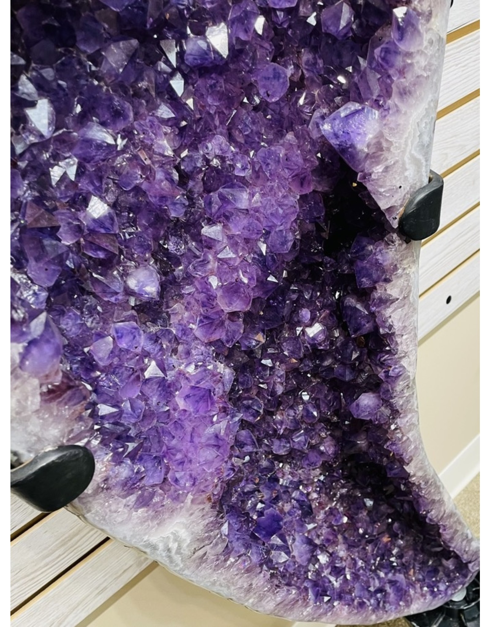 Amethyst Angel Wings Display