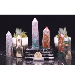 "Ocean Jasper Towers/Point -Medium (3-4"")"