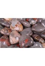 Bloodstone/Heliotrope Heart - Small