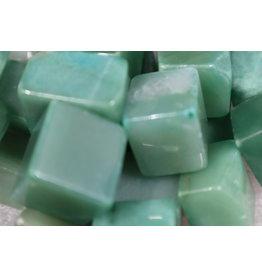 "Green Aventurine Cubes 1"""