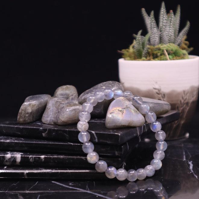 Blue Labradorite Bracelet-8mm