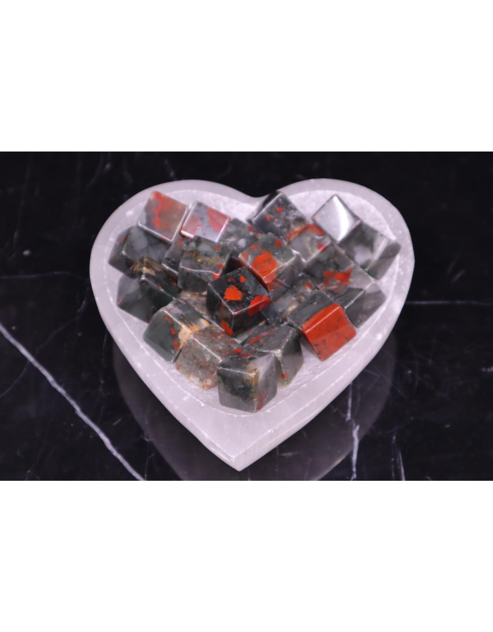 "Bloodstone/Heliotrope Cubes 1"""