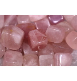 Rose Quartz Cubes 1""