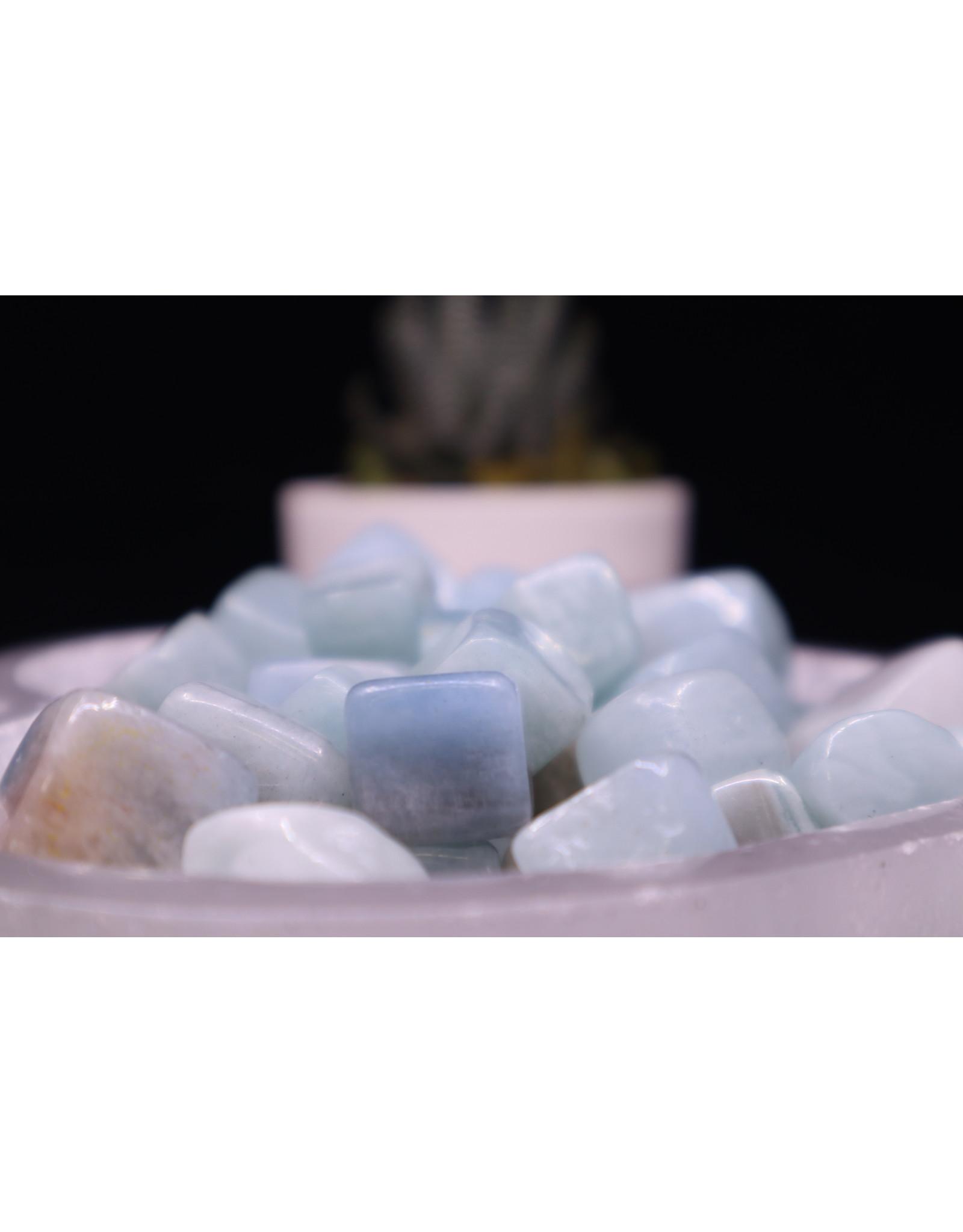 """Aquamarine Cubes  .05-1""""-Small"""