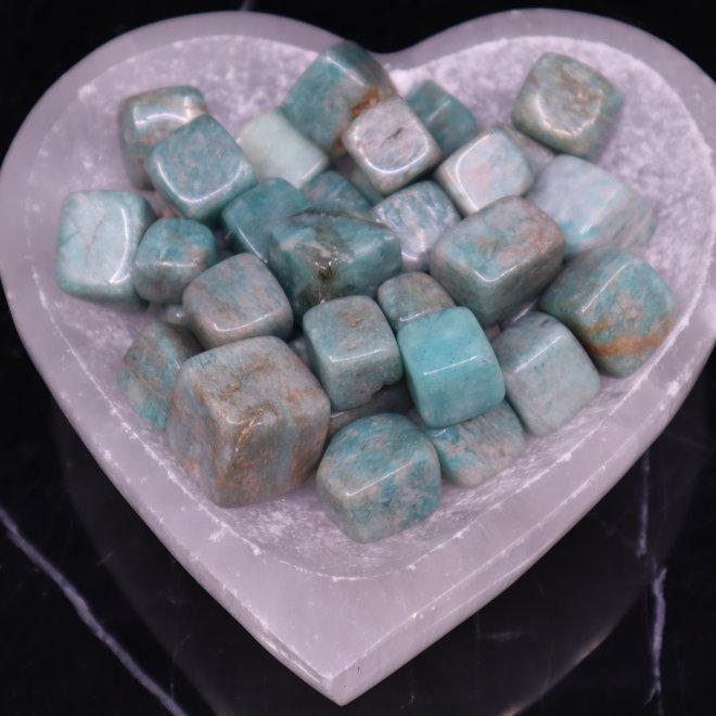 "Amazonite Cubes 1"""