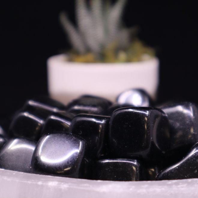 """Black Obsidian Cubes 1"""""""