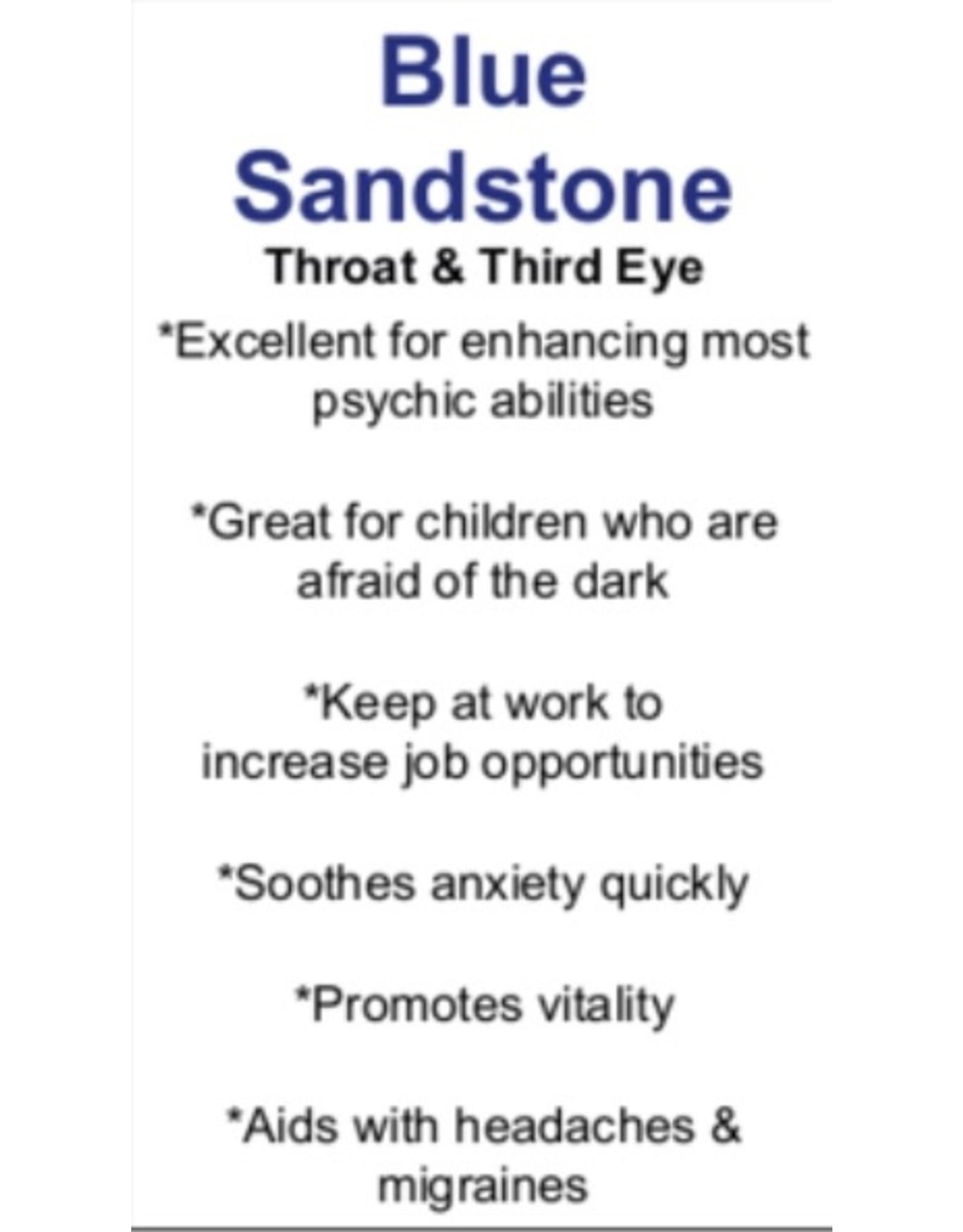Blue Sandstone/Goldstone Medium Stars