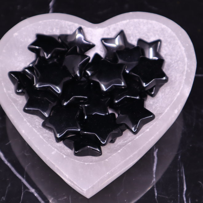 Black Obsidian Medium Stars