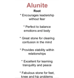 Alunite - Card