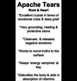 Apache Tears - Card