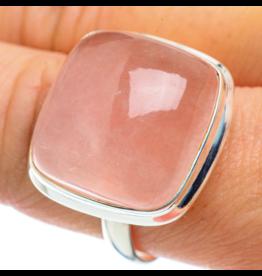 Rose Quartz Ring - Size 10