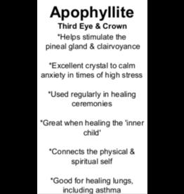 Apophyllite - Card