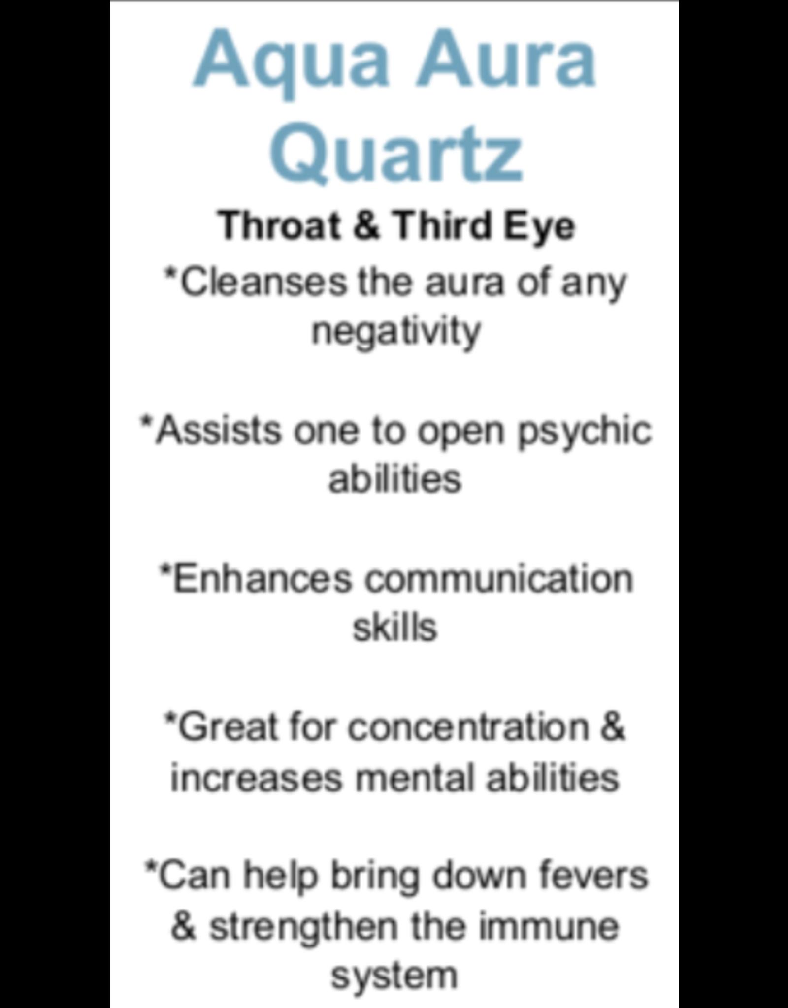 Aqua Aura Quartz - Card