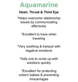 Aquamarine - Card