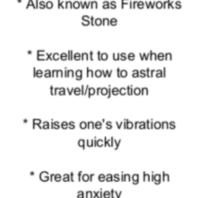 Astrophyllite - Card