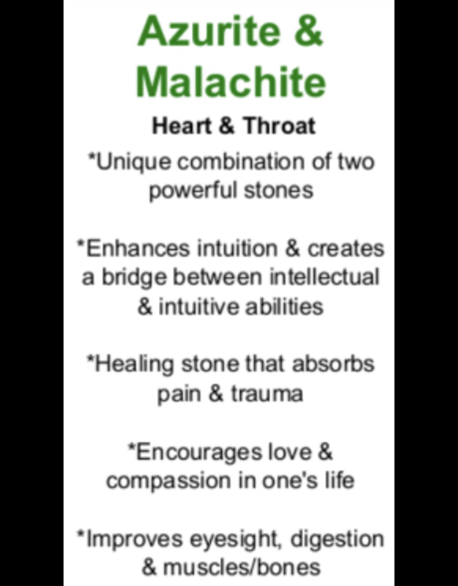 Azurite w/Malachite - Card
