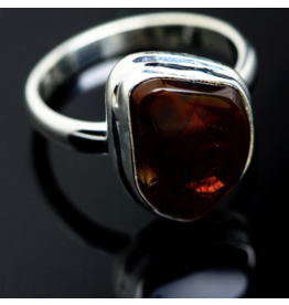 Mexican Fire Agate Ring - Size 7.25