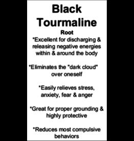 Black Tourmaline - Card