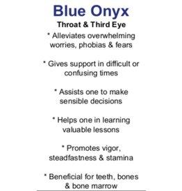 Blue Onyx - Card