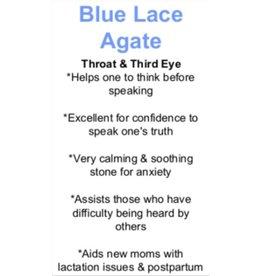 Blue Lace Agate - Card