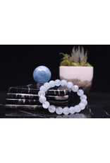 Aquamarine Bracelet - 10mm