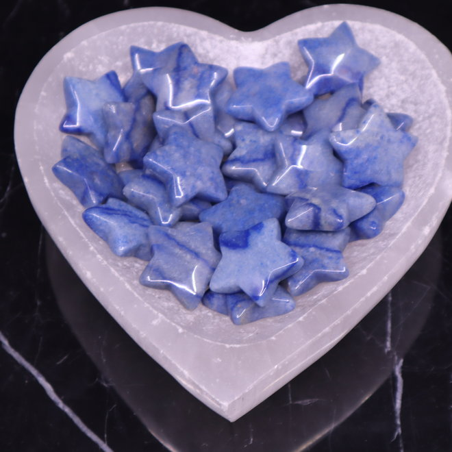 Blue Aventurine Medium Stars