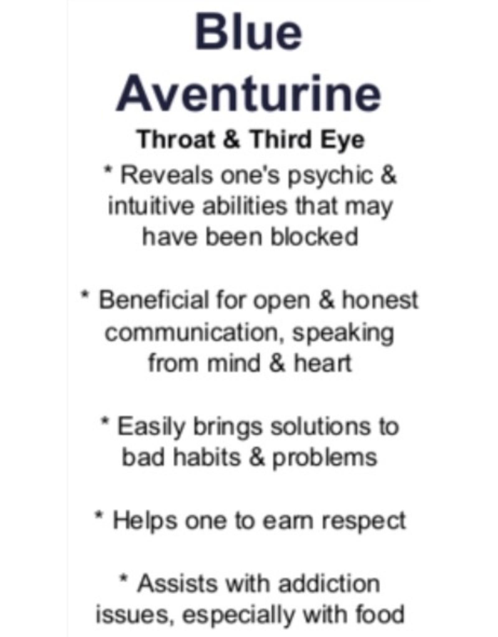 Blue Aventurine Medium Heart