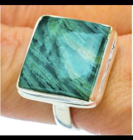 Amazonite Ring - Size 8.75