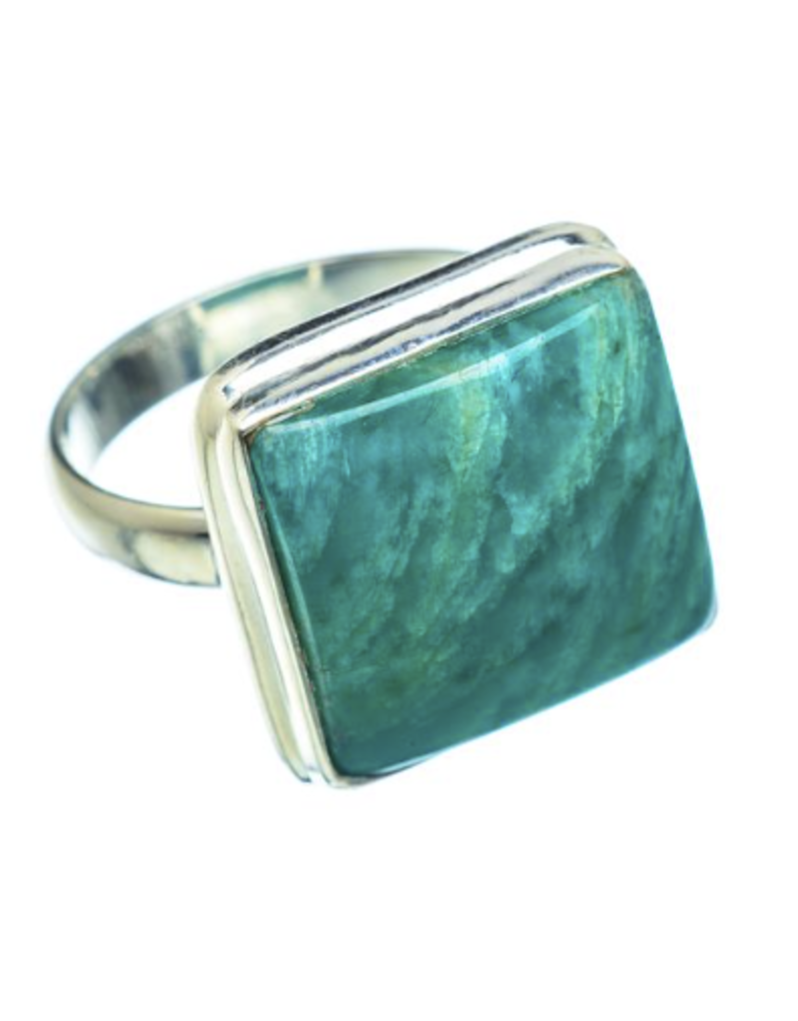 Amazonite Ring - Size 8.75