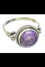 Charoite Ring Size - 8.25