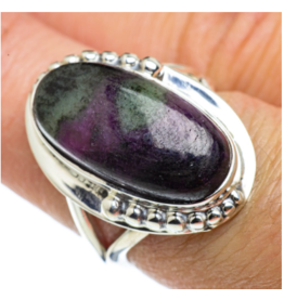 Ruby Zoisite Ring - Size 7.75