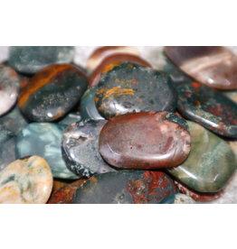 Bahia Jasper Pocket Stone