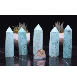 Turquoise Tower Point 3-4""