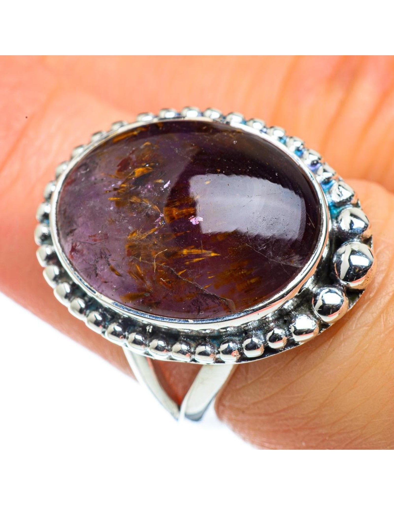 Cacoxenite Ring - Size 7.25