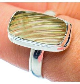 Prehnite Ring - Size 8