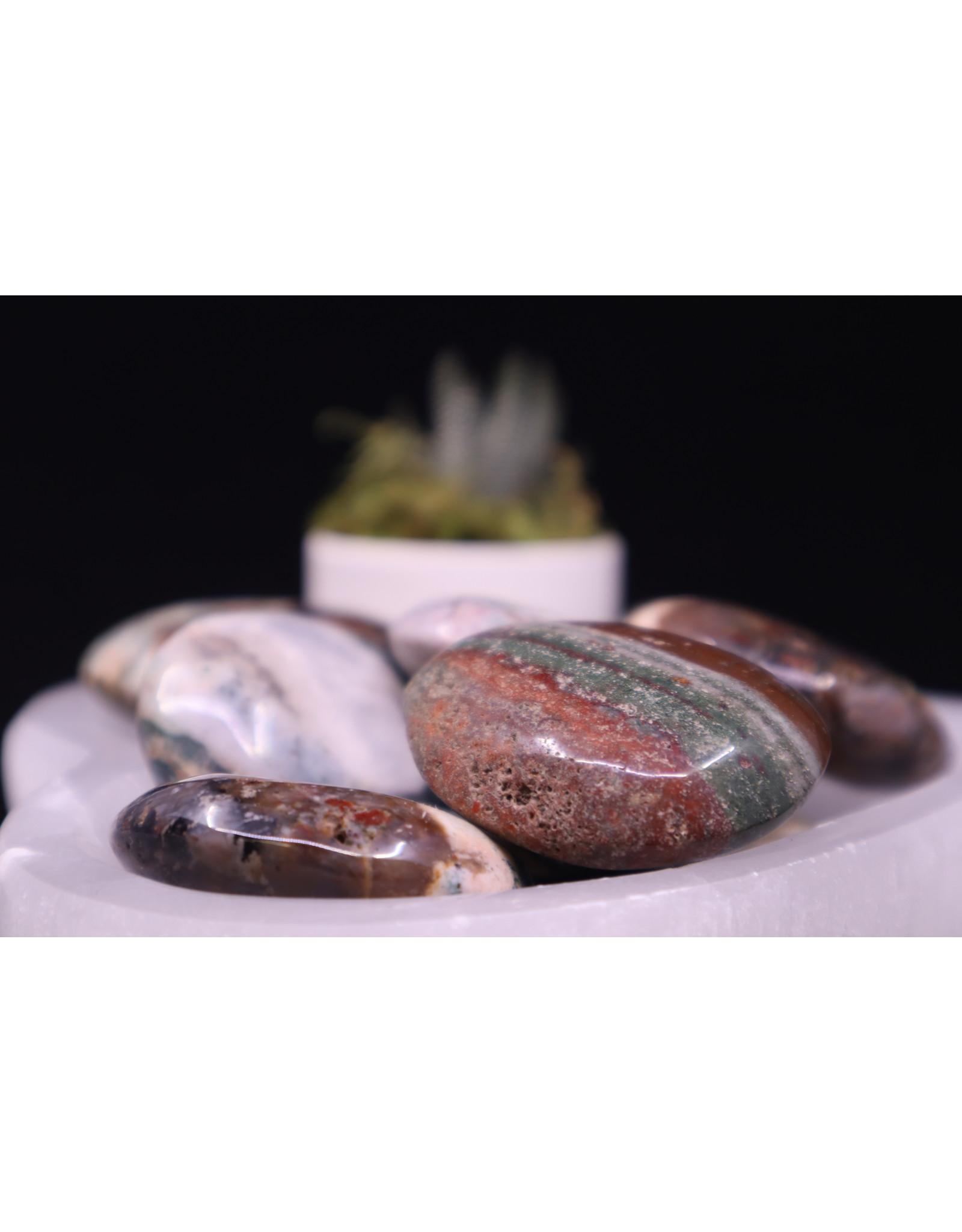Bahia Jasper Palm Stone