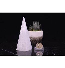 "Selenite High Pyramid 5"""