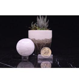 Selenite Satin Spar Sphere Orb Small 30mm