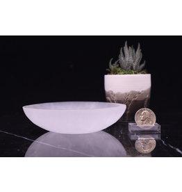 Selenite/Satin Spar Charging Bowl-Low Medium