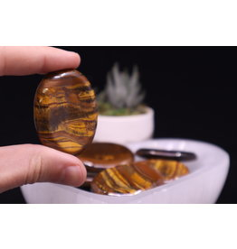 Gold Tiger Eye - Worry Stone