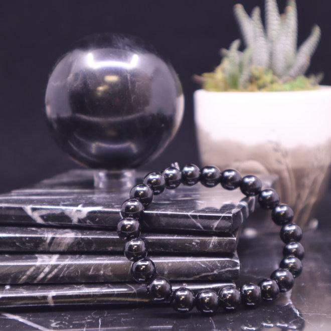 Black Tourmaline Bracelet-8mm