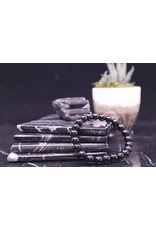 Black Tourmaline Bracelet -  8mm