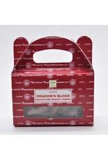 Nag Champa Satya Dragons Blood Backflow Incense Cones-24