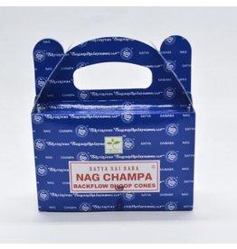Nag Champa Satya Nag Backflow Incense Cones-24