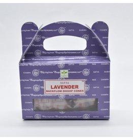 Nag Champa Satya Lavender Backflow Incense Cones-24