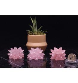 """Rose Quartz Flower 2"""""""