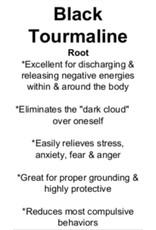 Black Tourmaline - Tumbled