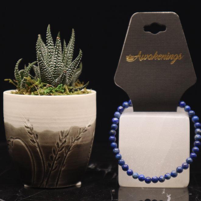 Lapis Lazuli Bracelet-4mm
