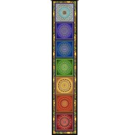 Tapestry Ladder/Wall Hanging , Chakra Ladder